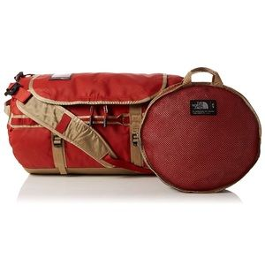 The North Face Base Camp Duffel Large Red & Tan